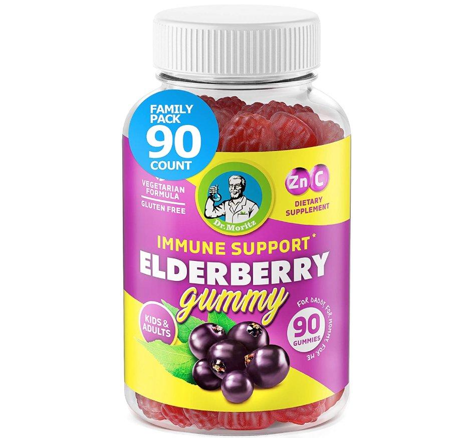 Dr. Moritz  Best Elderberry Gummies