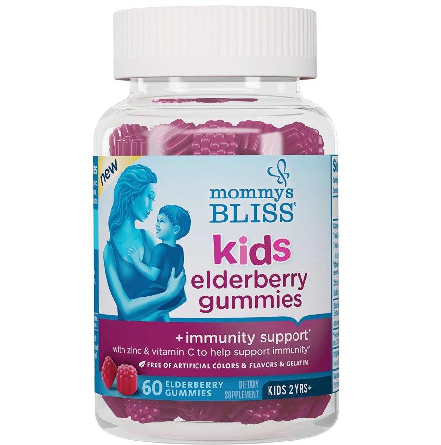 Mommy's Bliss Kids Elderberry Gummies